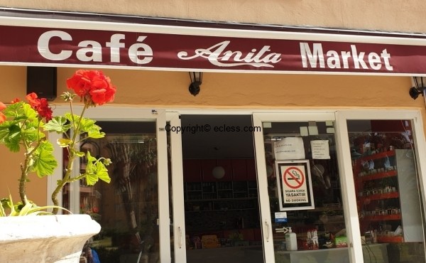 Supermarket Cafe-Restaurant for sale in Liparis 3 residential complex